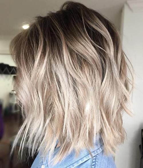 40 Beautiful Blonde Balayage Looks Hair Cuts 325 Pinterest