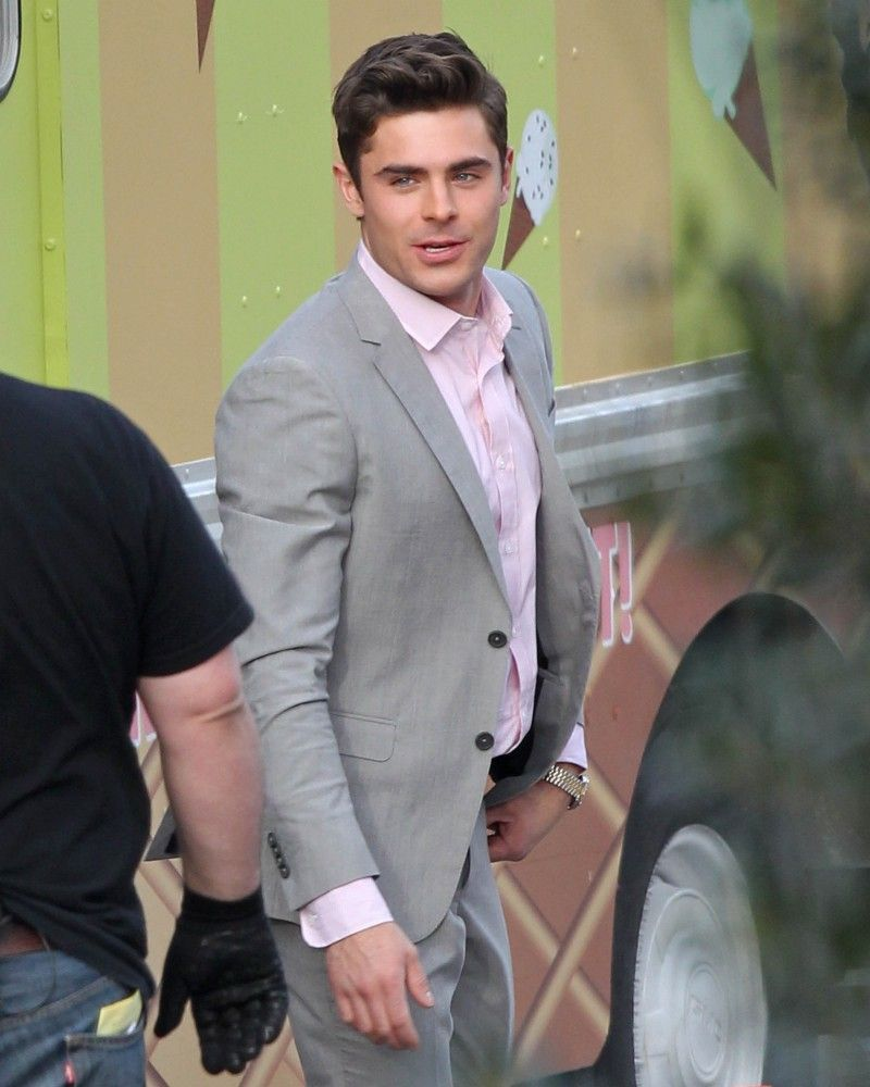 5 Linen Mens Suits For Springsummer Inspired By Zac Efron Bad
