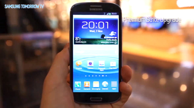 Nova atualização do Galaxy S3 tem detalhes revelados pela Samsung