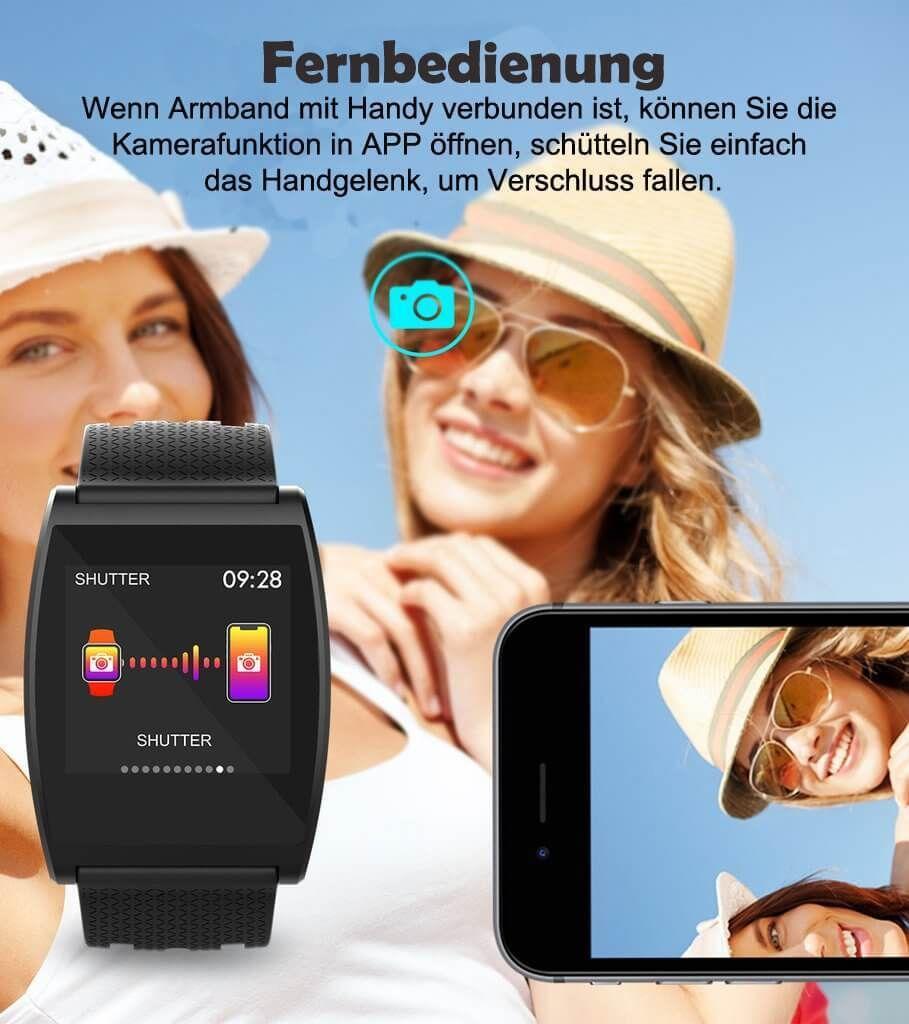 Neue Intelligente Farbbildschirm Smartwatch Armbanduhr Sport Kalorien Trainings Herzfrequenz  Schrit...