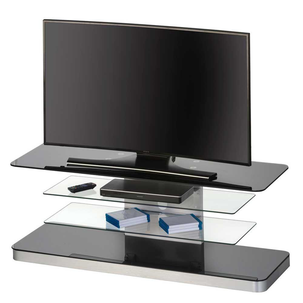 Trend TV Tisch in Schwarz Wei Glas Jetzt bestellen unter https moebel