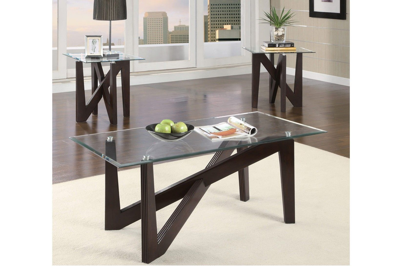 Axis 3 Pc Cocktail Table Set Furniture Table Furniture