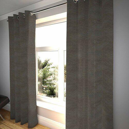 Ebern Designs Thermovorhang-Set Ansley mit Kräuselband, verdunkelnd | Wayfair.de
