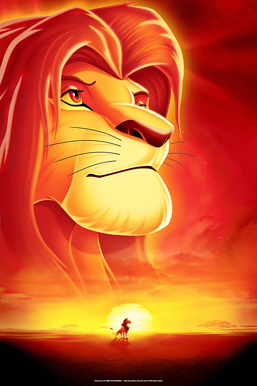Walt disney posters the lion king ben lion king - Lion king wallpaper ...