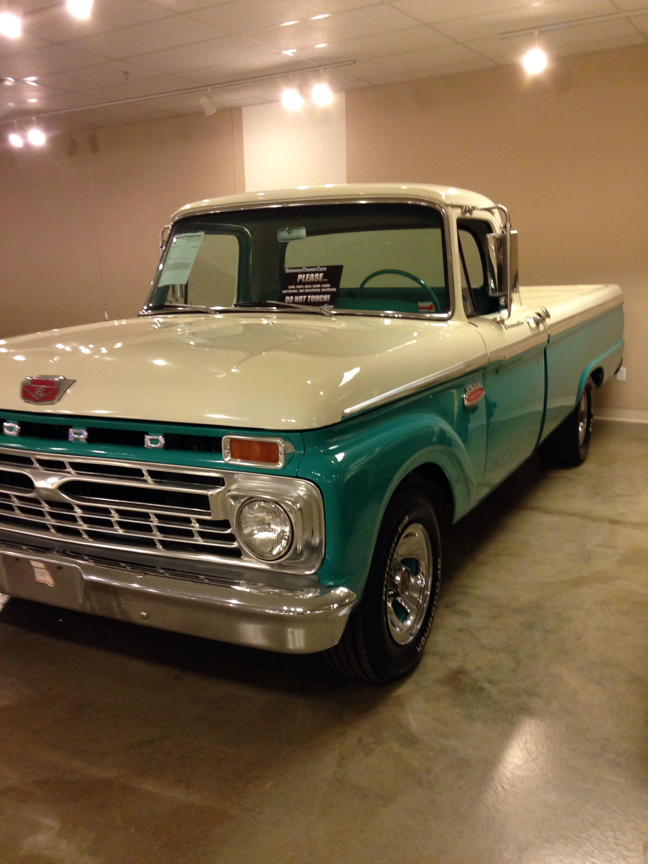 1966 Ford F100 Camiones Ford Viejos Camionetas Camionetas Ford