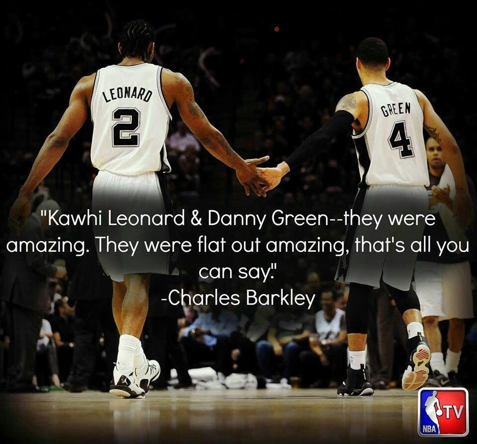 Charles Barkley Quote Gospursgo Sanantoniospurs Kawhileonard Spurs Dannygreen San Antonio Spurs Basketball San Antonio Spurs Spurs Basketball