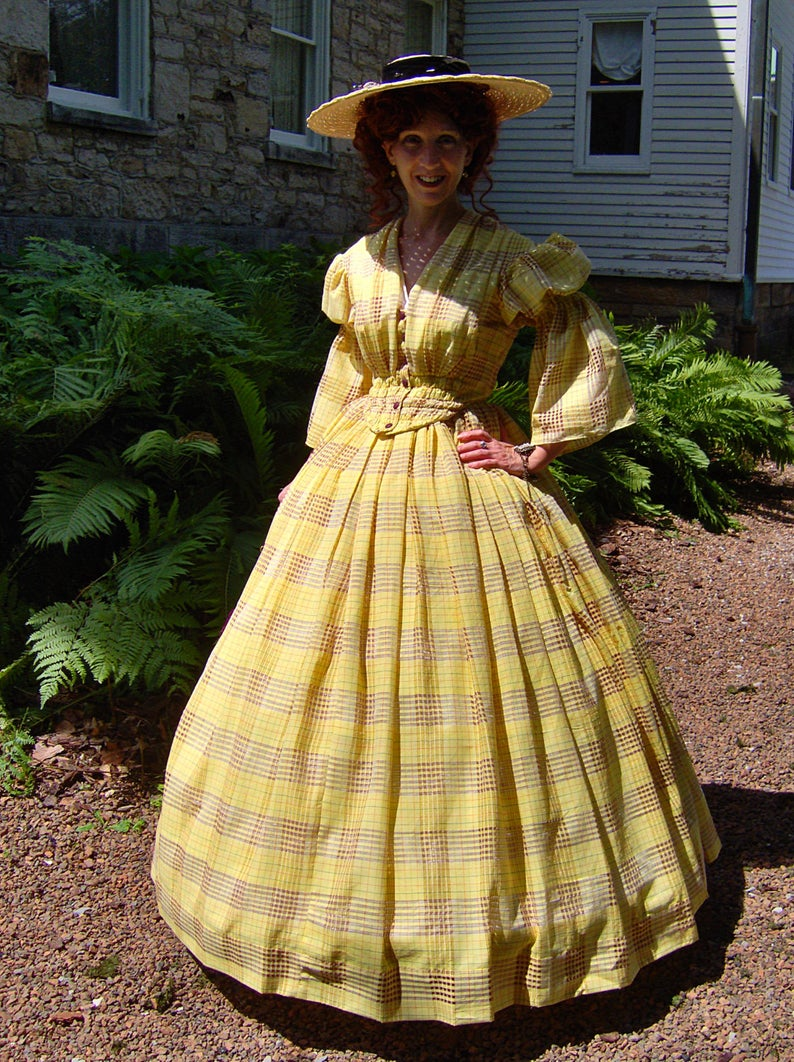 For Orders Only Custom Made 1800s Victorian Dress 1850s 1860s Etsy Civil War Fashion Victorian Dress Civil War Dress [ 1062 x 794 Pixel ]