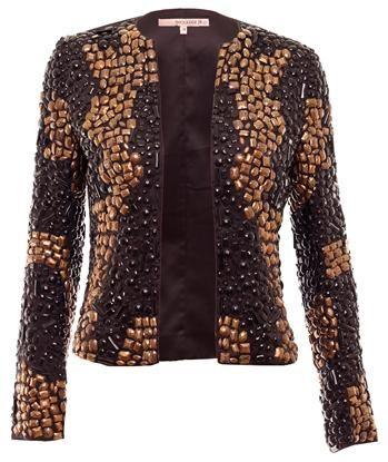 BLAZER E CASAQUETO casaqueto bordado