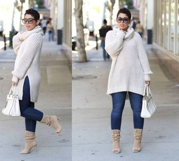 Full Figured Fashionable Plus Size Fashion For Women Plus Size Street Style Looks Http Www