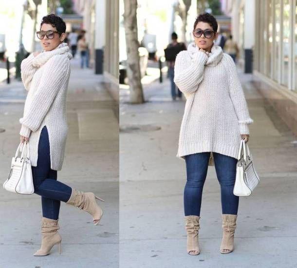 Full Figured  amp  Fashionable Plus size fashion for women, Plus size  street style looks 5ffe4917f39