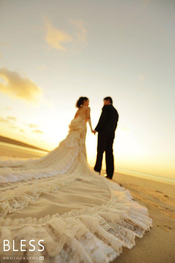 Pre Wedding Photo Bali Bali Beach Sunset Wedding With