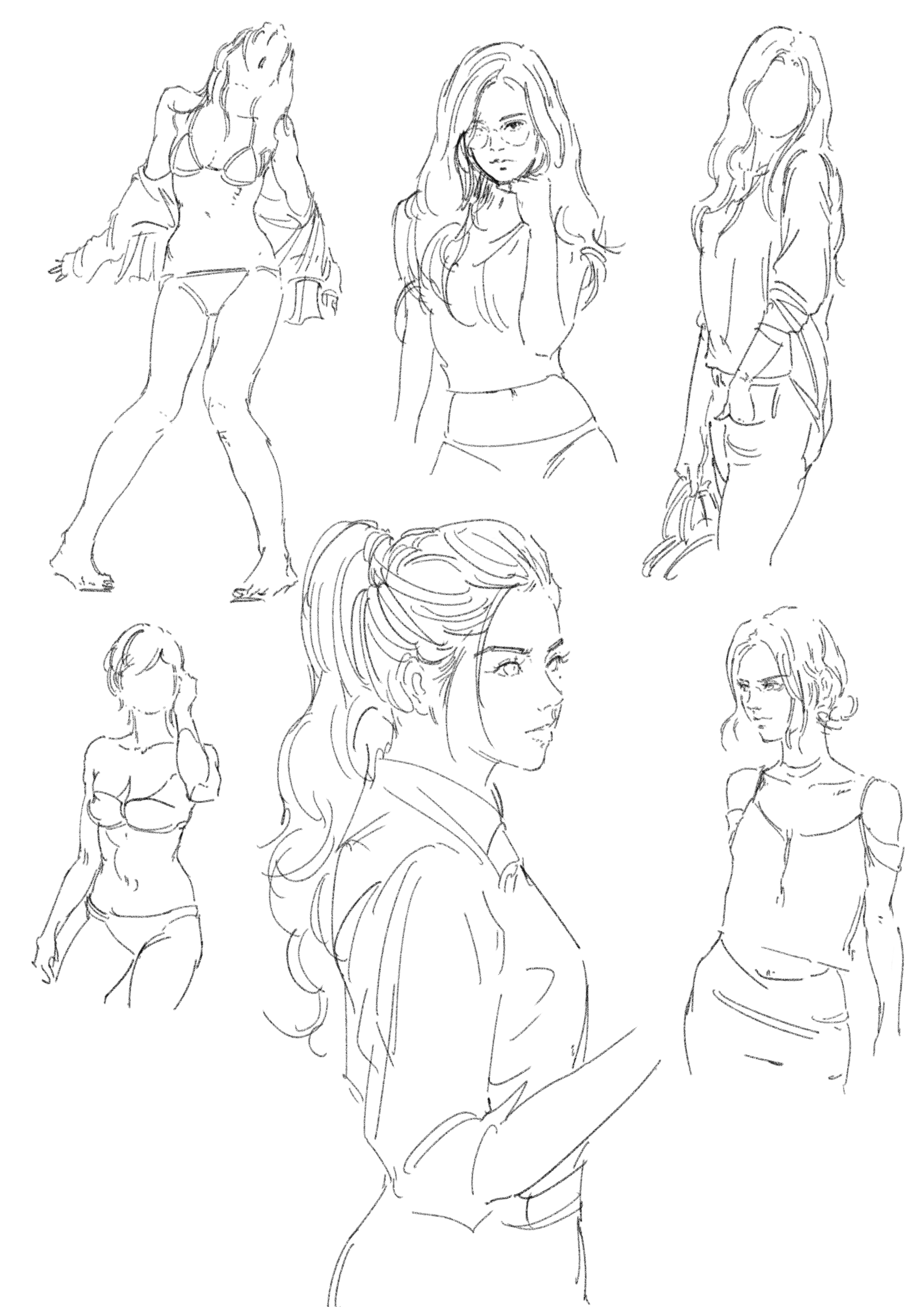 Pin by Ganda Ngarbingan on Pose Drawing reference poses