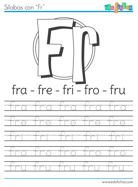 Ficha para aprender la FR http://www.edufichas.com/actividades ...