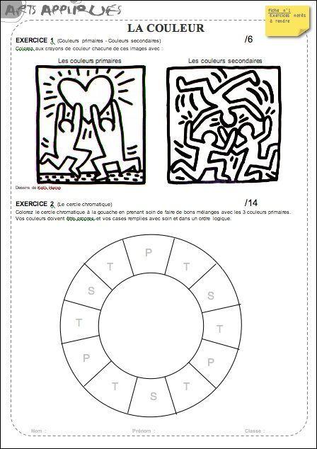 La Couleur Artzabertène Couleur Pinterest Art Ecole Art Et