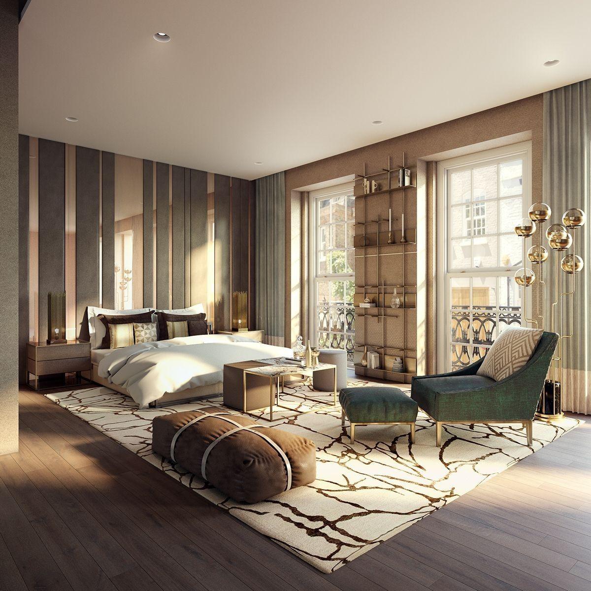 современные спальни дизайн: Пин от пользователя Тамара Супрун на доске Спальни