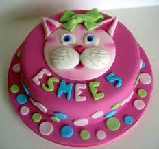 Resultado De Imagem Para Cat Shaped Birthday Cake