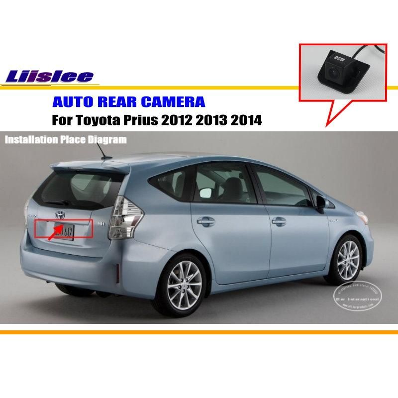 Car Camera For Toyota Prius 2012 2013 2014 Rear View Camera Hd