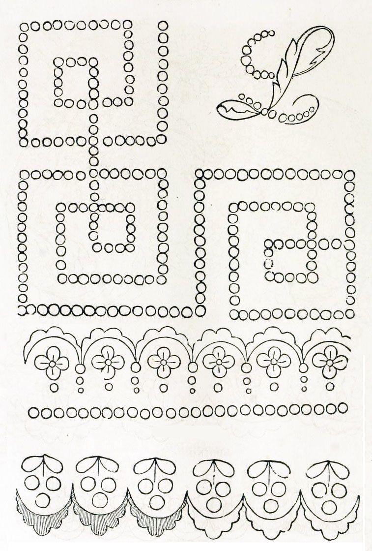 Pin de Karina Corail Gonzalez en patrones bordado | Pinterest ...