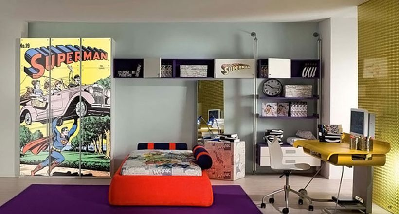 60 cool superhero themed room and decoration design | themed rooms
