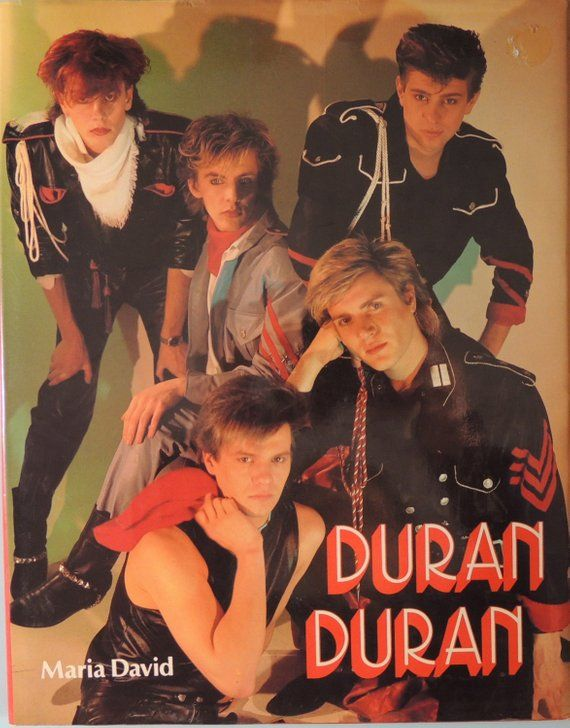 1984 Duran Duran - Maria David - Hard Cover - Original Dust Jacket