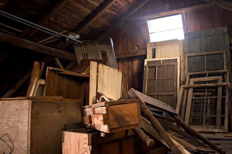 barn attic poe Pinterest