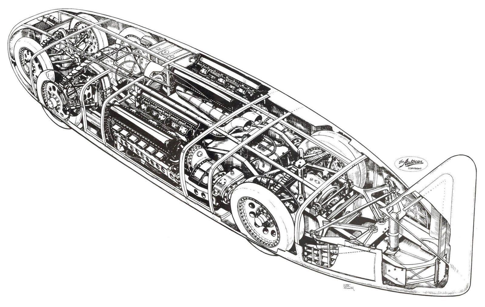 Thunderbolt Land Speed Record Car