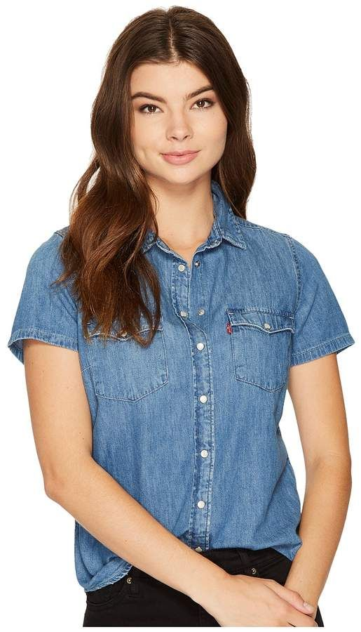Levi's Women's Short Sleeve Pullover   Womens long sleeve