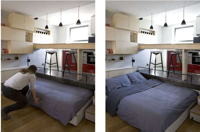 studio optimise 16 m2 | how to edit a small apartment | Pinterest ...