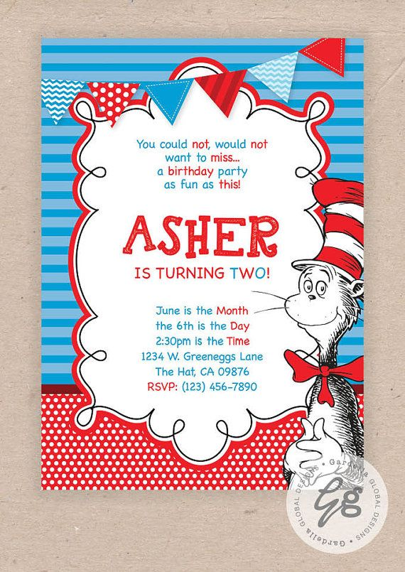 Child Party Supplies Cat in the Hat Dr.Seuss Deluxe Birthday Hat