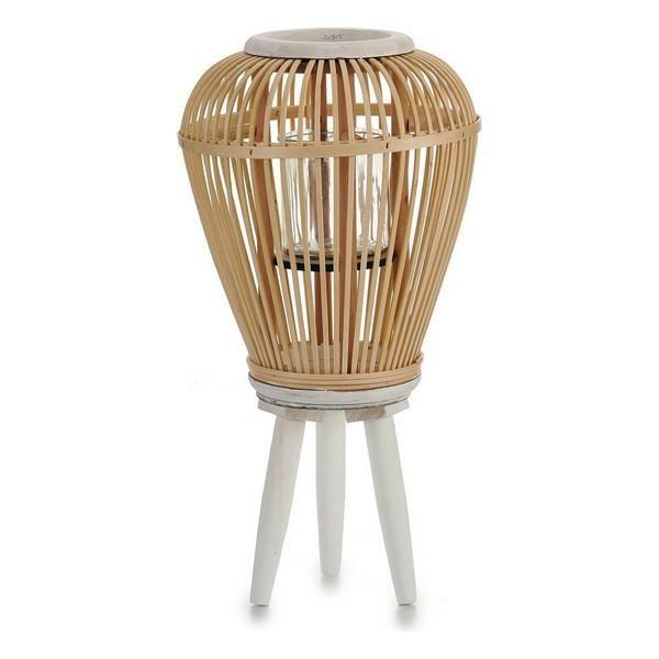 Candleholder Bamboo Wood – 26 x 47 x 26 cm