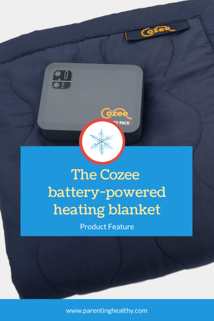 Product Feature The Cozee Battery Powered Heating Blanket Heated Blanket Blanket Gravity Blanket
