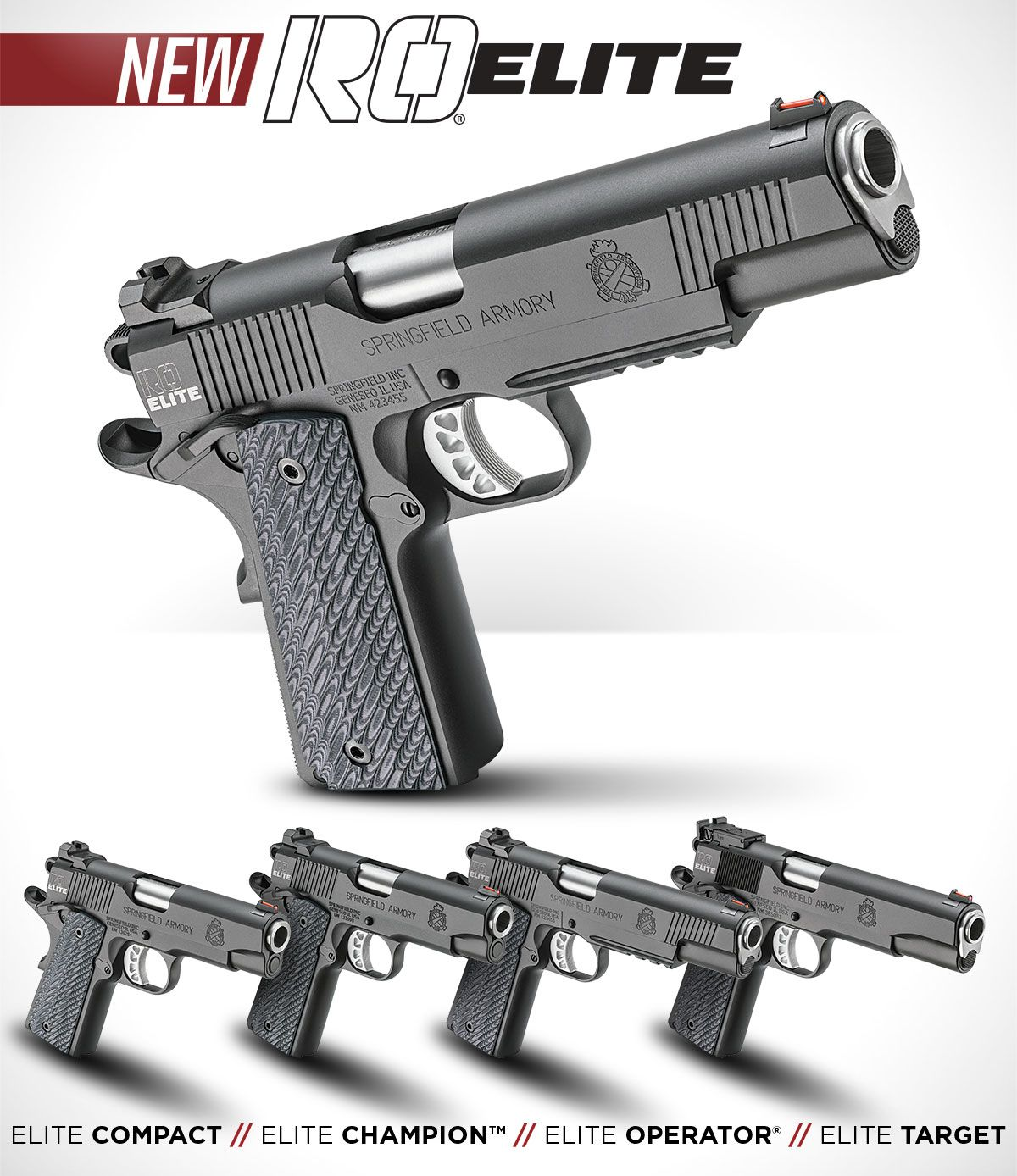 Springfield Armory 1911 Range Officer Elite | Cool stuff