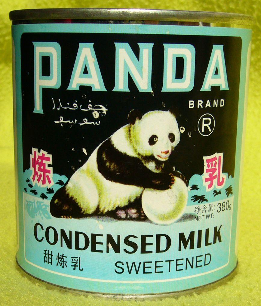 Panda Condensed Milk... hmmm