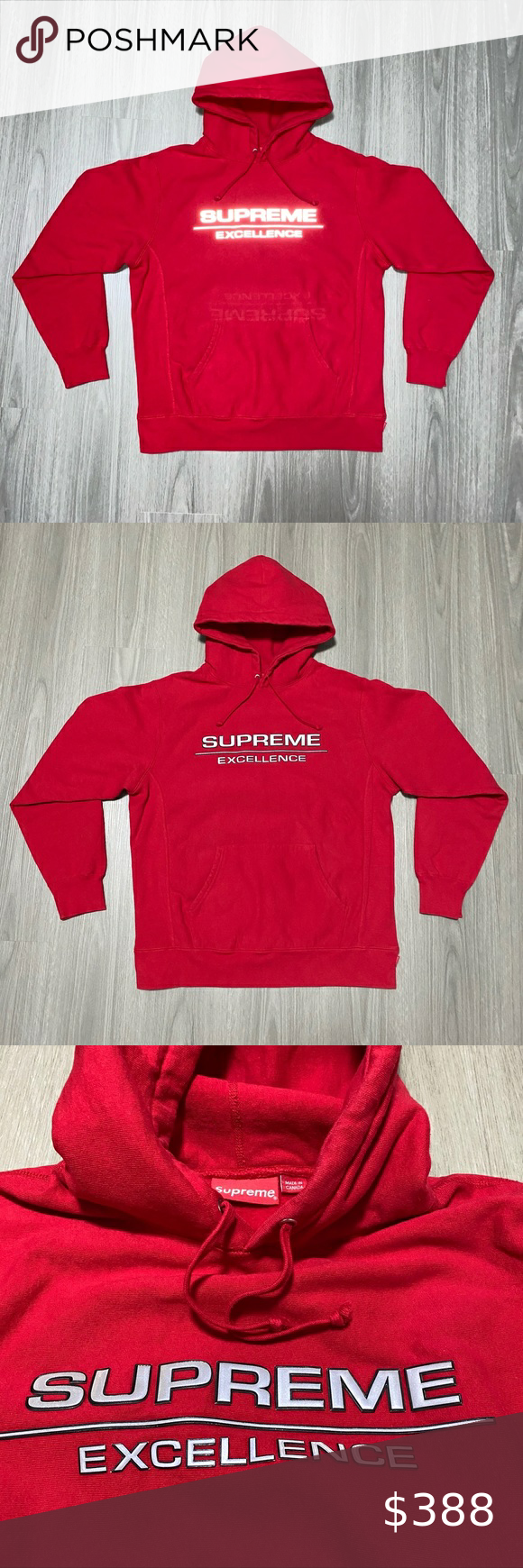 Supreme Reflective Excellence Hooded Sweatshirt Supreme Reflective Excellence Hooded Sweatshirt Red 100 Authe Sweatshirts Hooded Sweatshirts Sweatshirt Shirt [ 1740 x 580 Pixel ]
