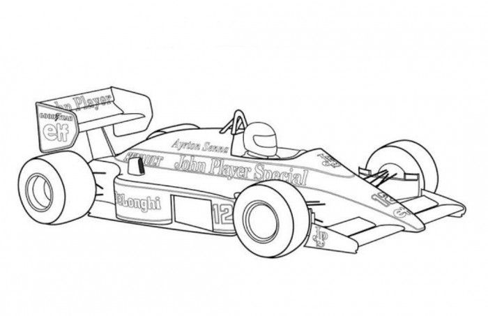 free printable race car coloring pages for kids pinterest
