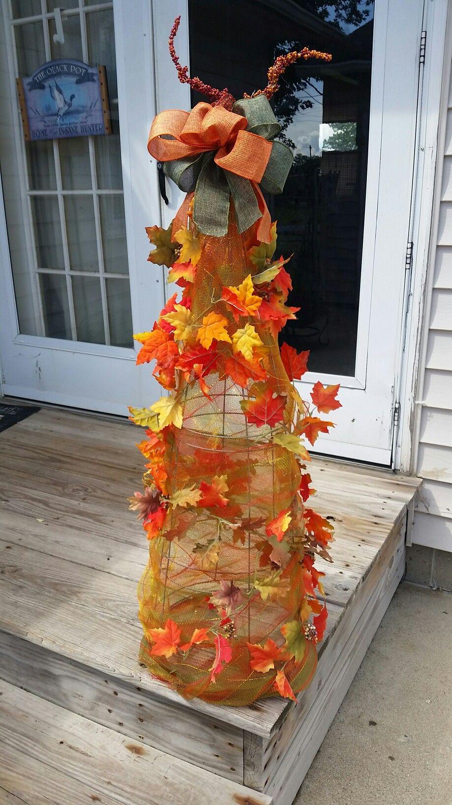 Fall leave tree.