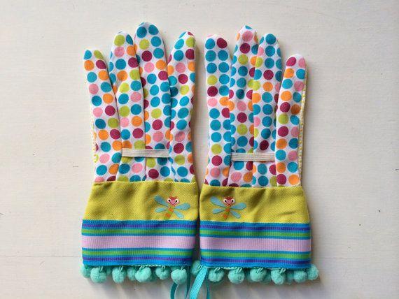 KIDS Designer Garden Gloves As Seen In Better Homes By #katgallery, $15.00  #aweteam