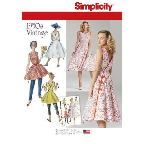 Patron Simplicity 7900 Robe vintage femme Robe vintage femme ...