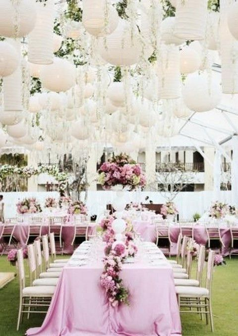 If you are planning an outdoor wedding yet afraid of bad weather, go ...