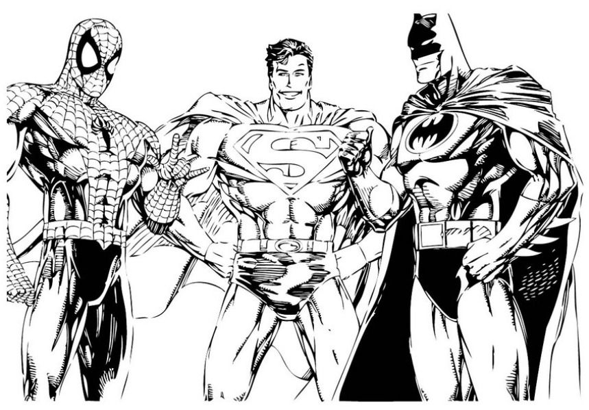 free superhero coloring pages superhero party pinterest superhero free and adult coloring