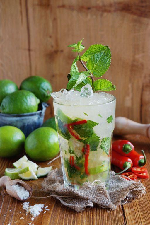 "foodist-resort: "" Coconut Chili Mojito """