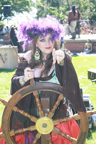 Pyrate Marshall Kandiss In Marcus Hook Cosplay Characters Pirate Wench Tribal Fusion Bellydance