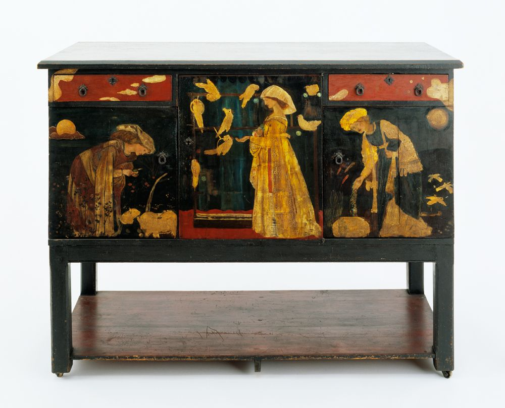 Ladies and Animals\' Sideboard by Edward Burne-Jones, London, 1860 ...