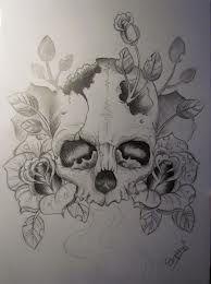 Image Result For Half Girl Half Skull Skull Tattoo Tattoos