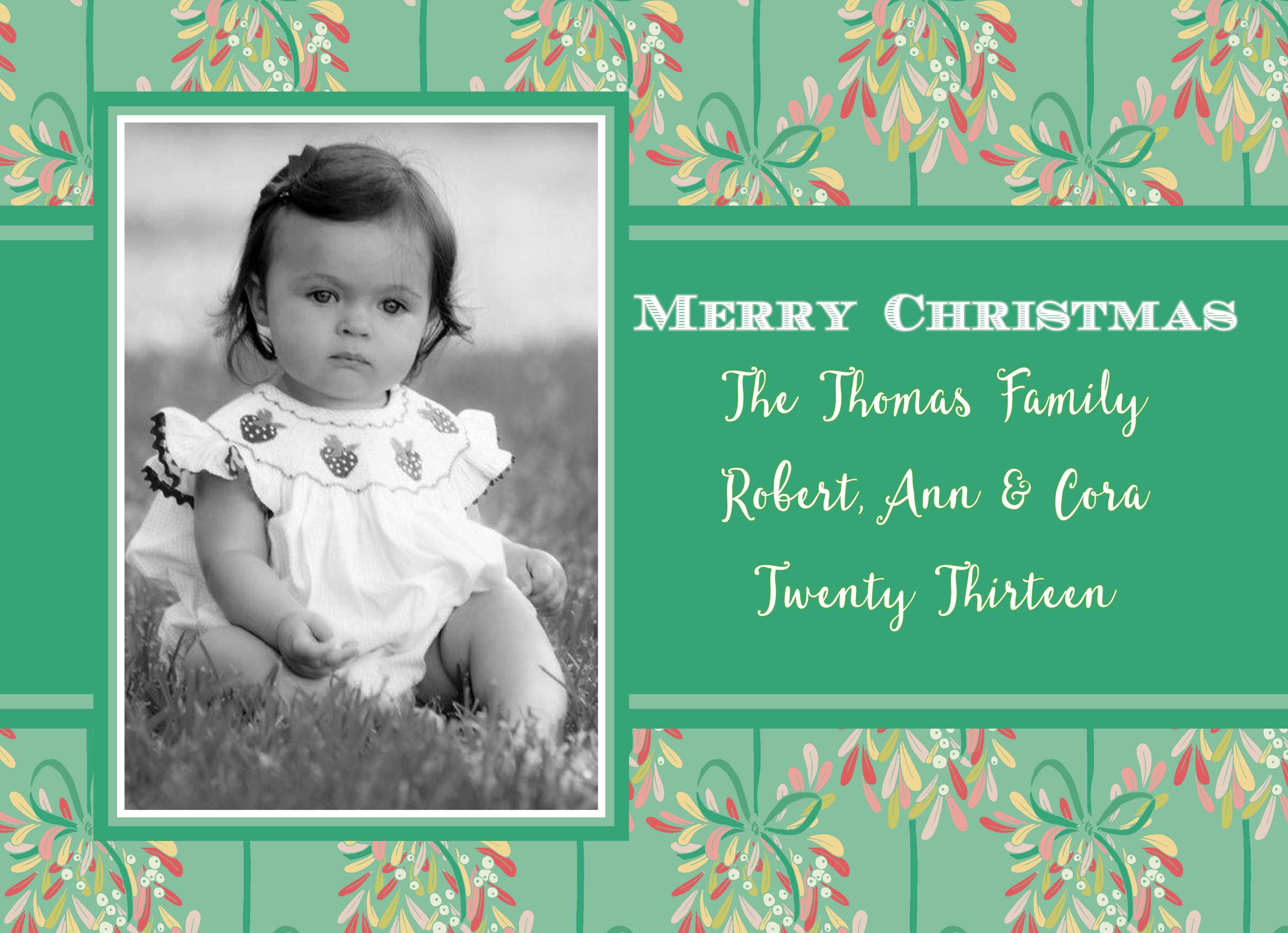 5752 Kennedy 3 Christmas Card In 2020 Personalized Holiday Card Christmas Photo Cards Holiday Photo Cards