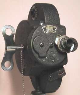 Bell & Howell clockwork movie camera