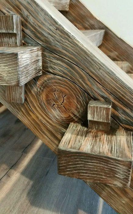 Pin de tony en Projets à essayer Pinterest Escalera, Madera y - escaleras de madera rusticas