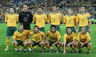 Socceroos World Cup Qualifier 2005 Australian Football Olympic Team Football Kits