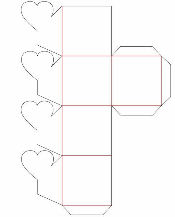 Plantillas de cajitas para imprimir imagui moldes for Cajas de carton infantiles