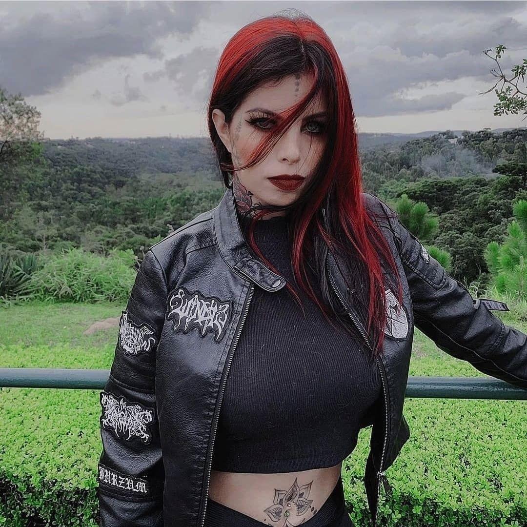 #blackmetalgirl black metal girl | Black metal girl, Heavy